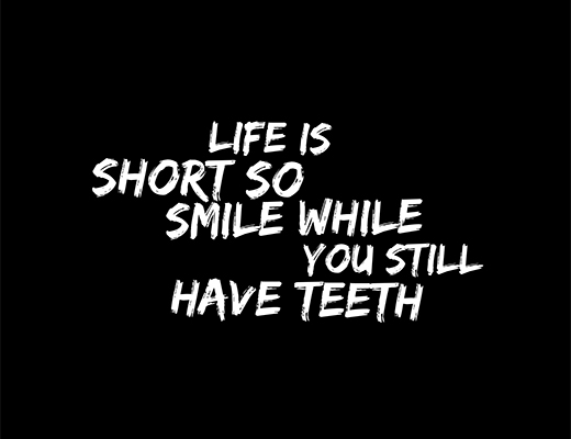 Teeth whitening quote