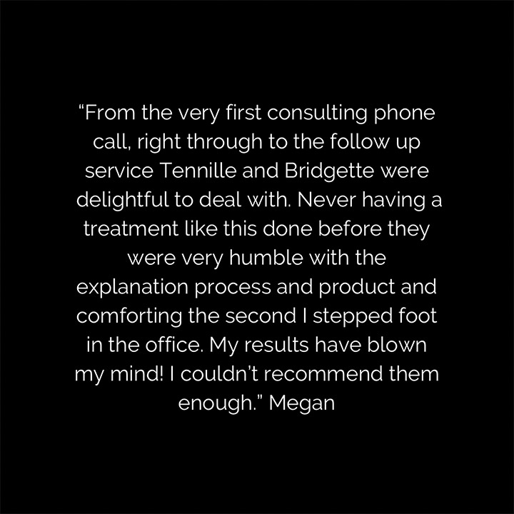 Client testimonial image from Traralgon