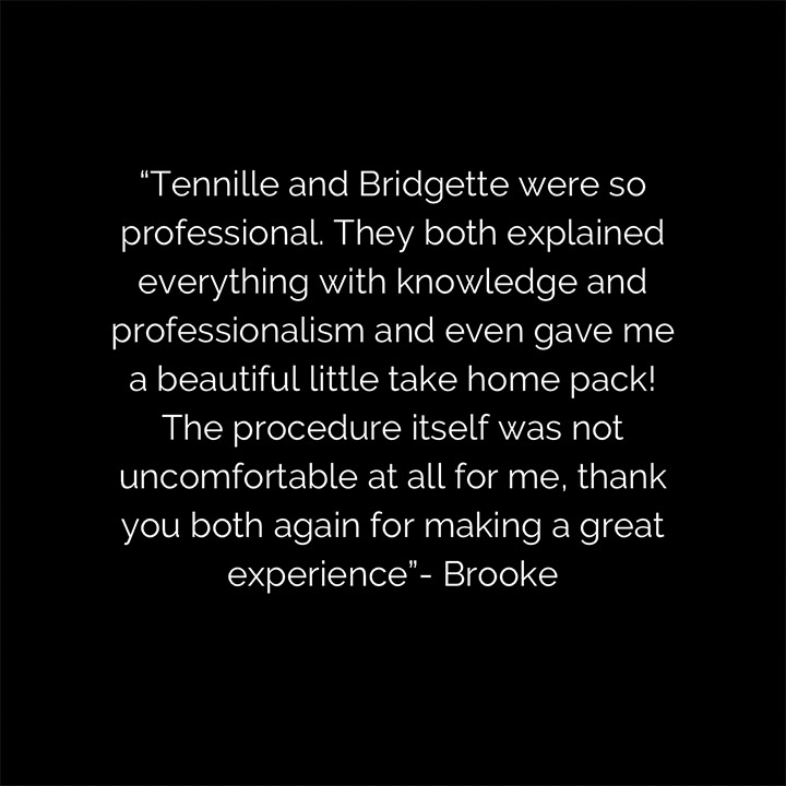 Client testimonial image from Berwick